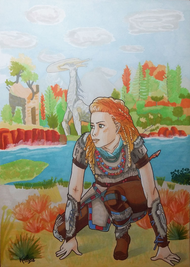 Fanart Horizon Zero Dawn
