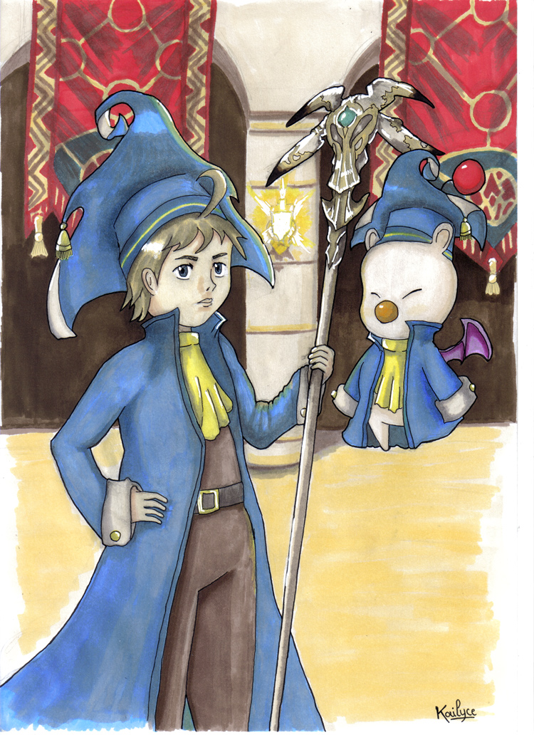 Tyro et Mog (Final Fantasy Record Keeper)